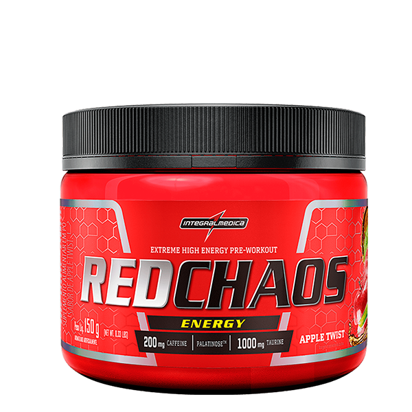 RedChaos Energy sabor Apple Twist 150g Integralmedica