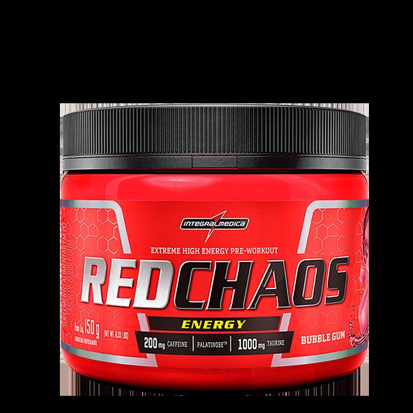 RedChaos Energy sabor Bubble Gum 150g Integralmedica