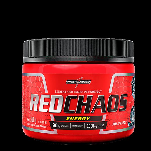 RedChaos Energy sabor Mr Freeze 150g Integralmedica