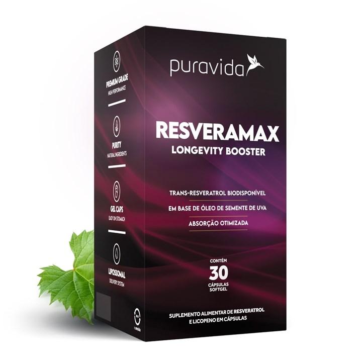Resveramax 30 caps Pura Vida