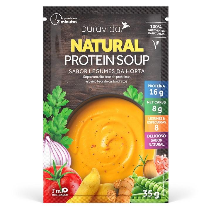 Sache Sopa Legumes da Horta 35G Pura Vida