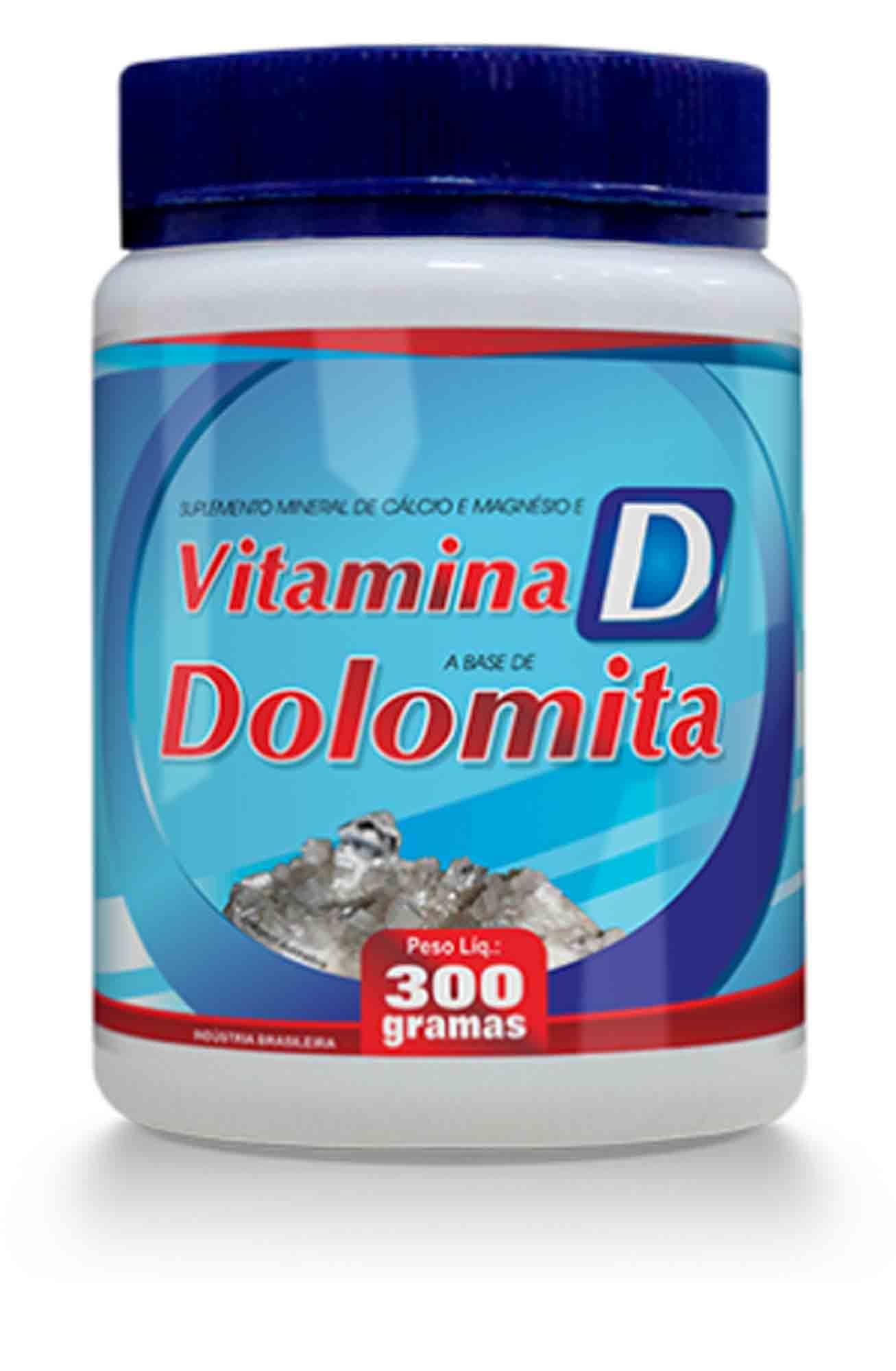 Sup Vitamina D Base de Dolomita  Pó 300gr Promel