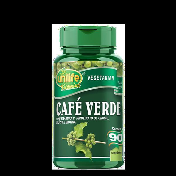 Uni Café Verde 400mg 90 Comp Unilife