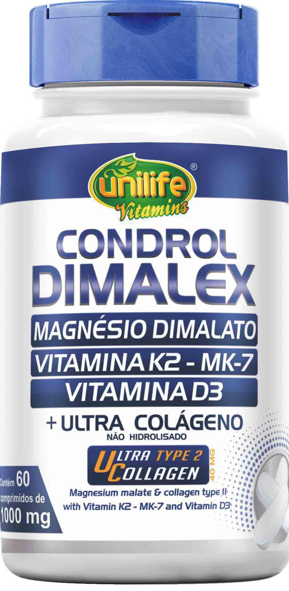 Uni Condrol Dimalex 1.000mg 60 Comp Unilife