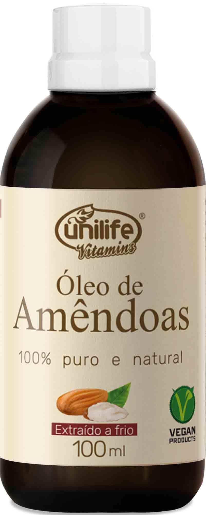 UNI OLEO DE AMENDOAS - 100ML Unilife