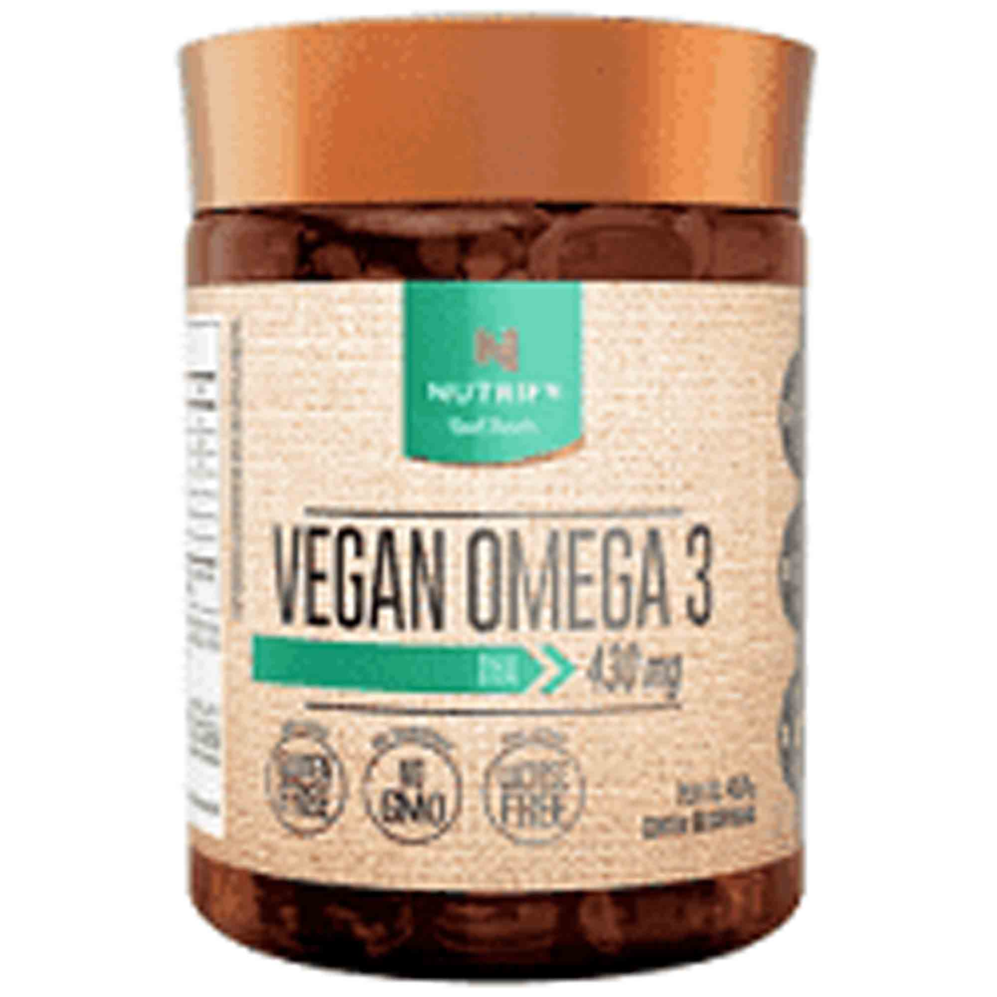 Vegan Omega 3 60caps 430mg Nutrify