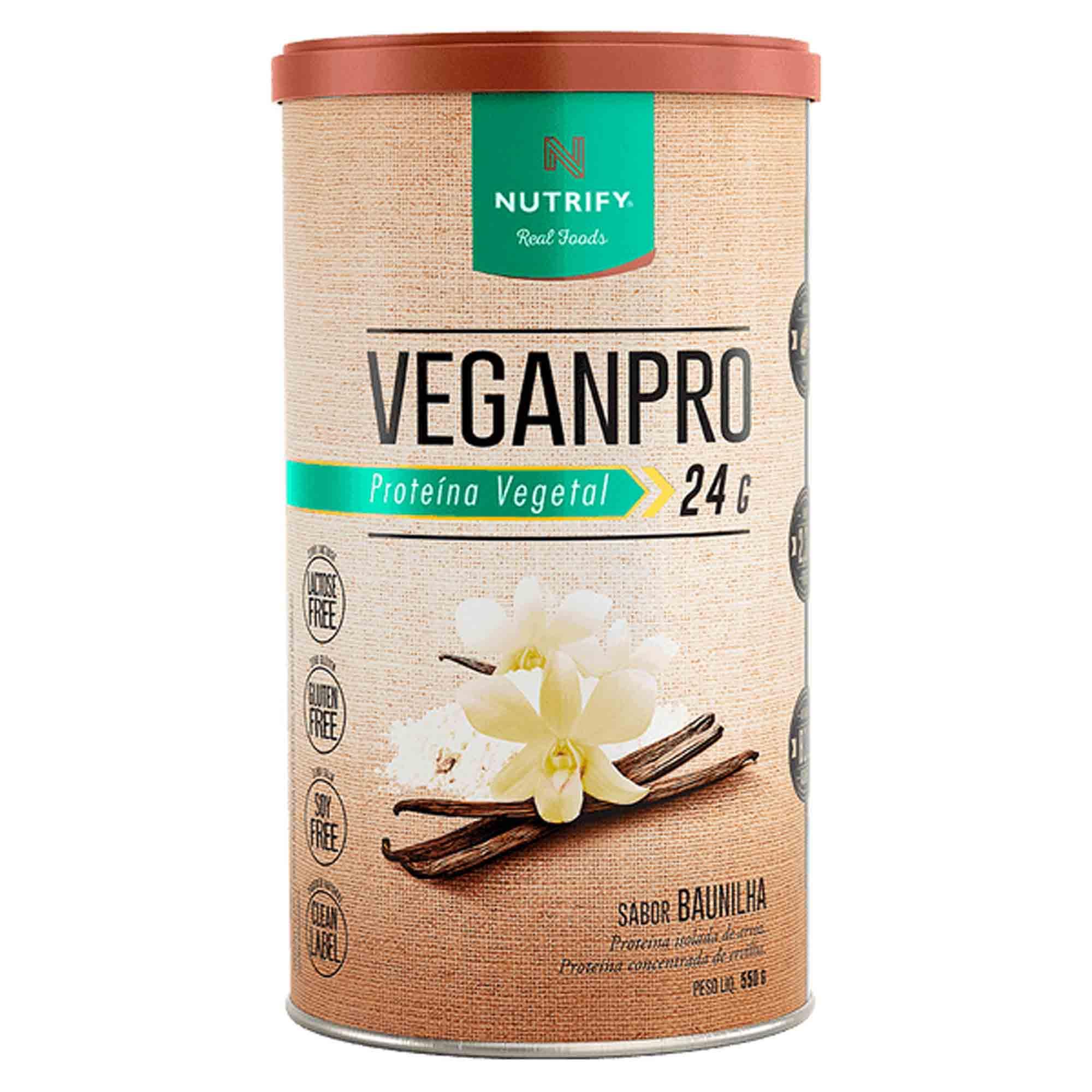 Veganpro sabor Baunilha 550g Nutrify
