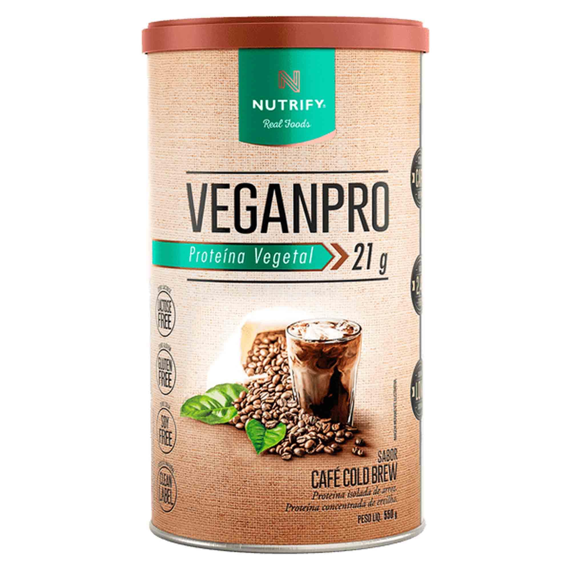 Veganpro sabor Café Cold Brew 550g Nutrify