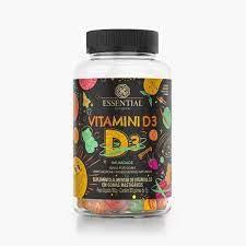 Vitamini D3 60 gomas 180g Essential