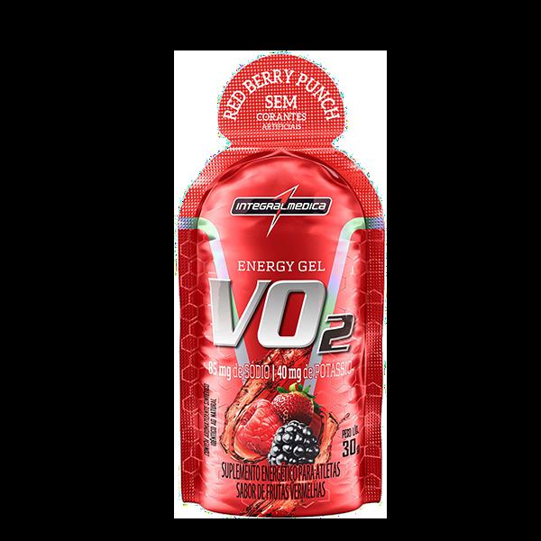 VO2 Gel X- Caffeine sabor Frutas Vermelhas Integralmedica