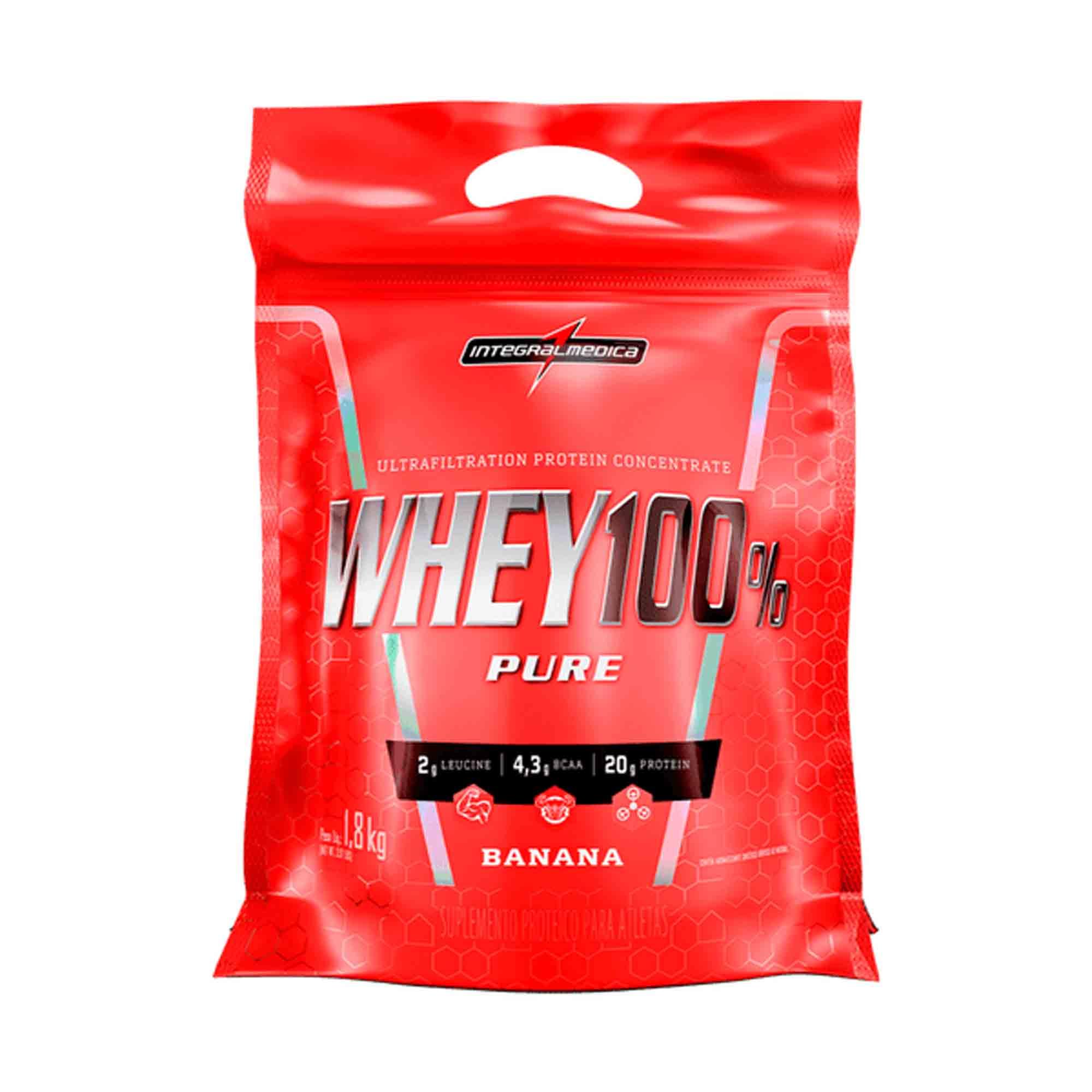 Whey 100% Pure Banana 907g Integralmedica