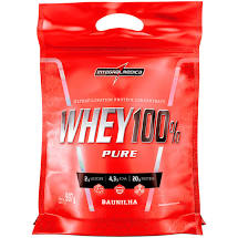 Whey 100% Pure Baunilha Sachê 907g Integralmedica