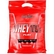Whey 100% Pure Chocolate Sachê 907g Integralmedica
