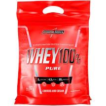 Whey 100% Pure Cookies and Cream Sachê 907g Integralmedica