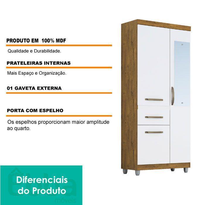 ACP ROUPEIRO GABRIELA C/ESP 3PTS MEL/OFF WHITE 9017.100
