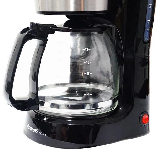 Cafeteira Inox Amvox ACF 557 127v