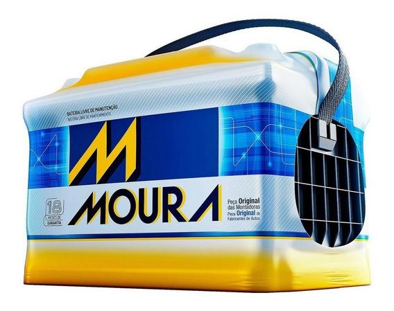Bateria Moura Hilux 90ah M90td