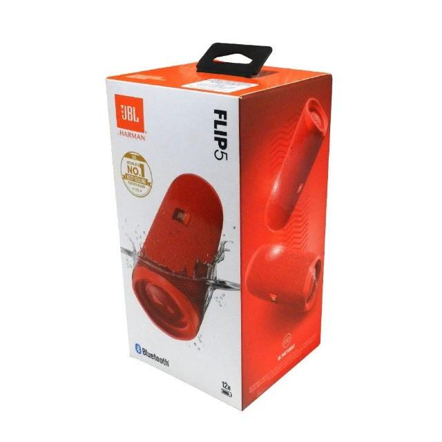 Caixa De Som Bluetooth Jbl Flip 5 Portatil Sem Fio Red