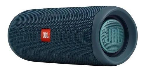 Caixa de Som JBL FLIP 5 portátil à prova d'água 20W RMS Bluetooth Bluer (Azul)