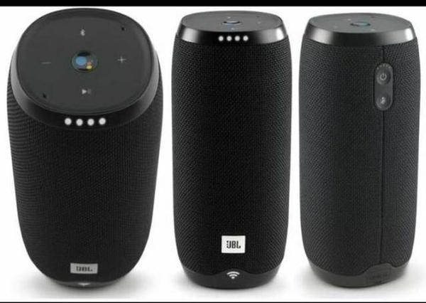 Caixa de Som JBL Link 20 Bluetooth Preta
