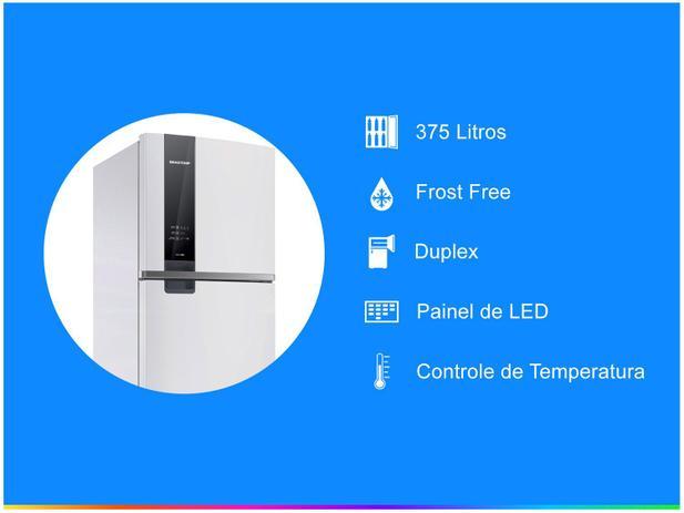 Geladeira/Refrigerador Brastemp Frost Free Duplex - Branco 375L BRM45 HB