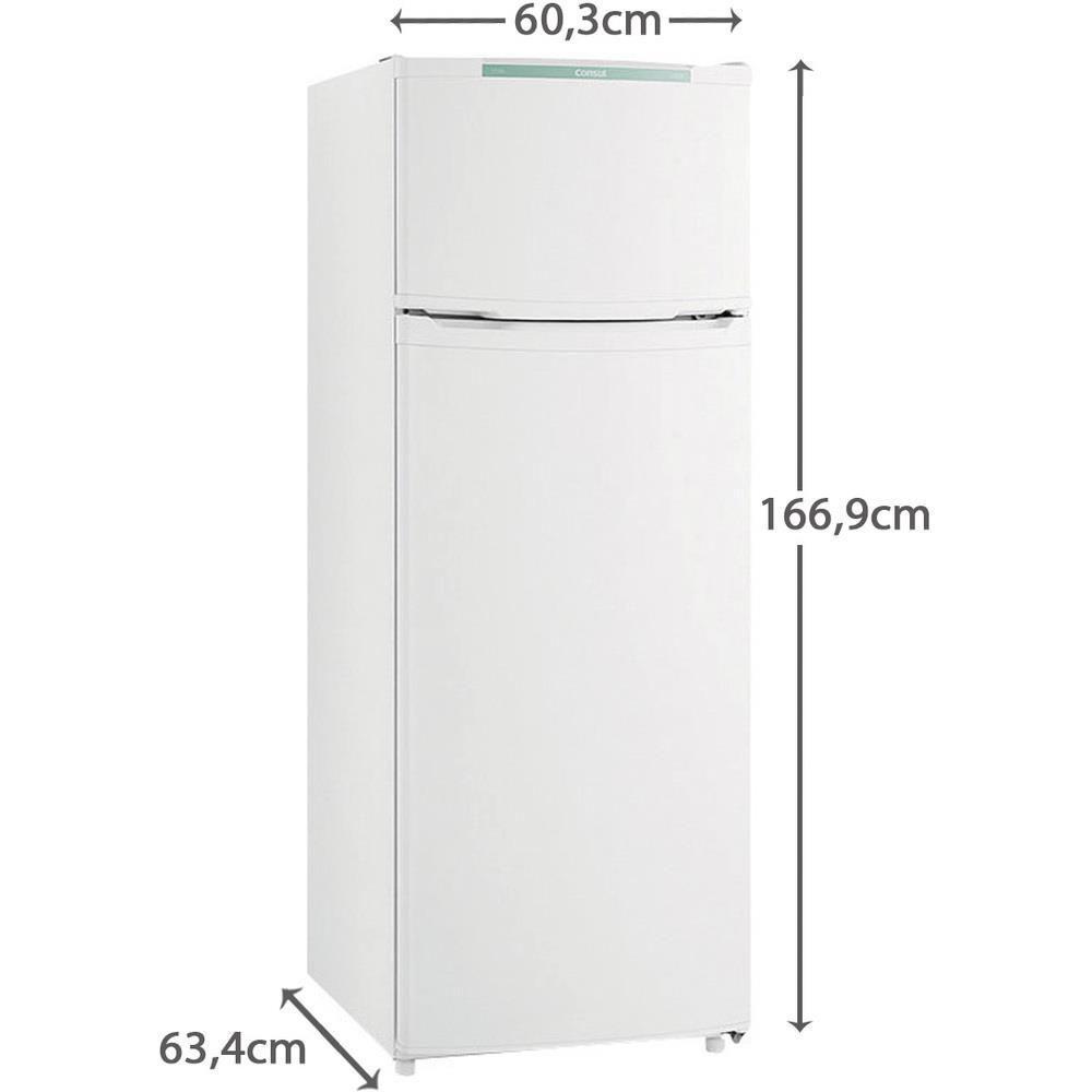 Geladeira/Refrigerador Consul 2 Portas CRD37 334L Branco - Consul