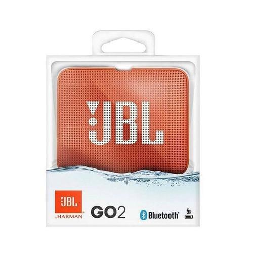 JBL Go 2 Caixa de som portátil com Bluetooth Laranja