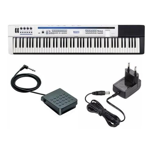 Piano Digital Casio Privia Branco Px 5s 88 Tecla Pedal Fonte