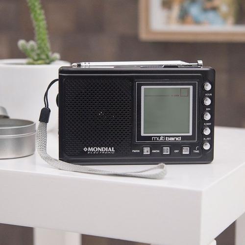 Rádio Portátil Digital Multiband Rp-03 - Mondial
