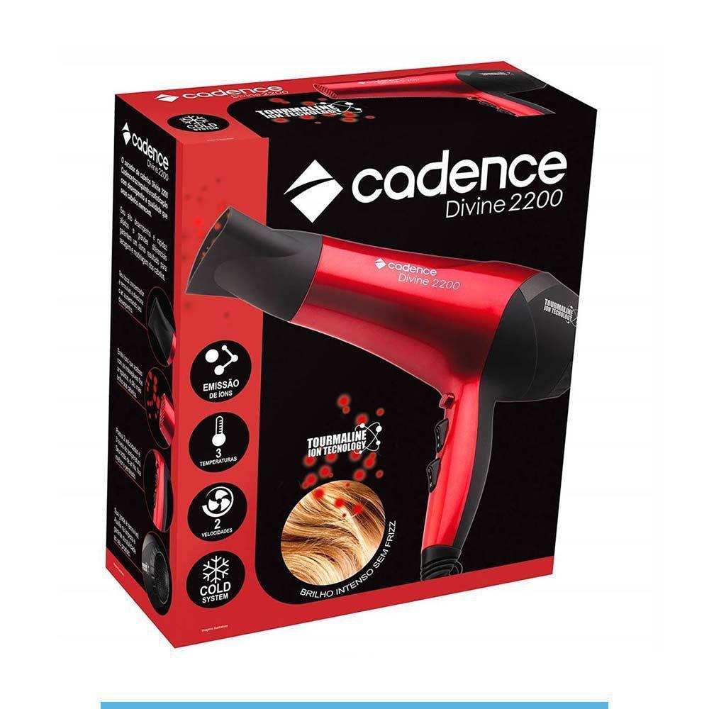 Secador de Cabelos Cadence Divine 2200 SEC156 127V