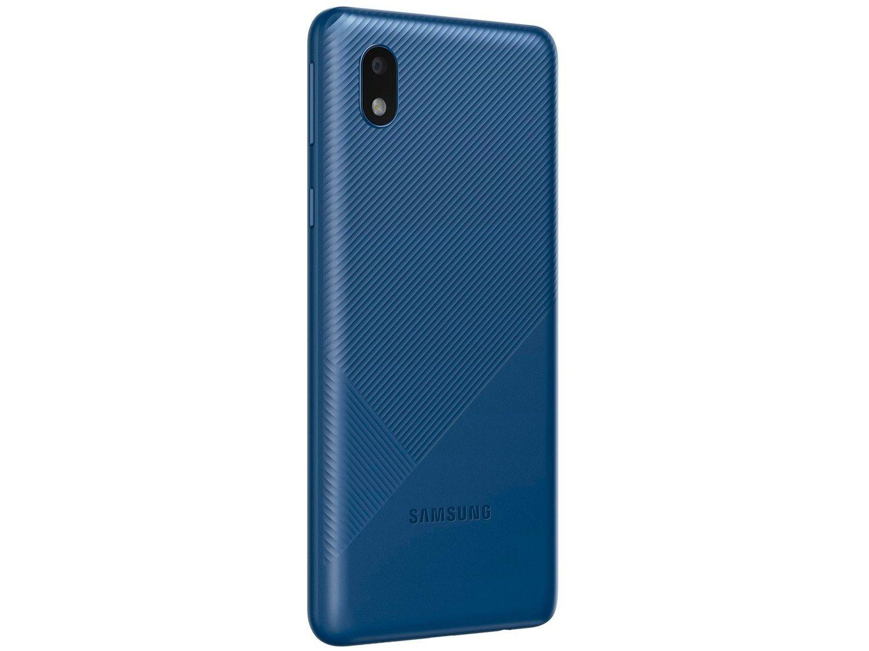 Smartphone Samsung Galaxy A01 Core 32GB - Azul