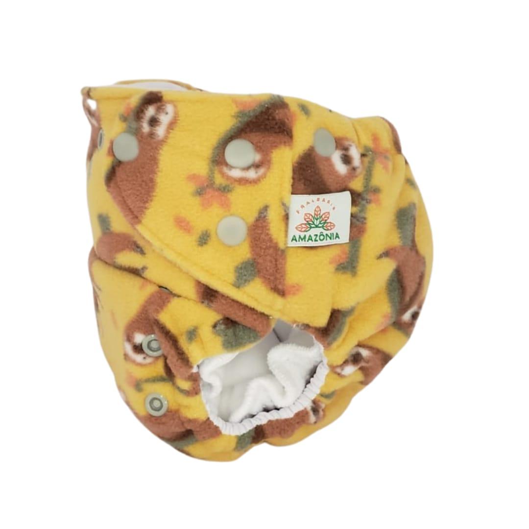 Capa para fralda ecológica Noturna -  Preguiça