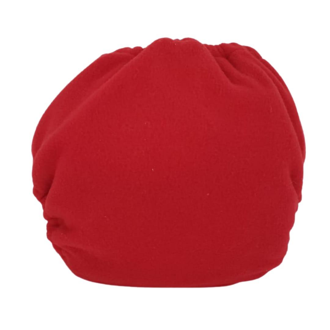 Capa para fralda ecológica Noturna - Vermelha