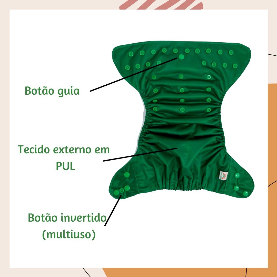 Fralda Ecológica AIO - Onça-pintada