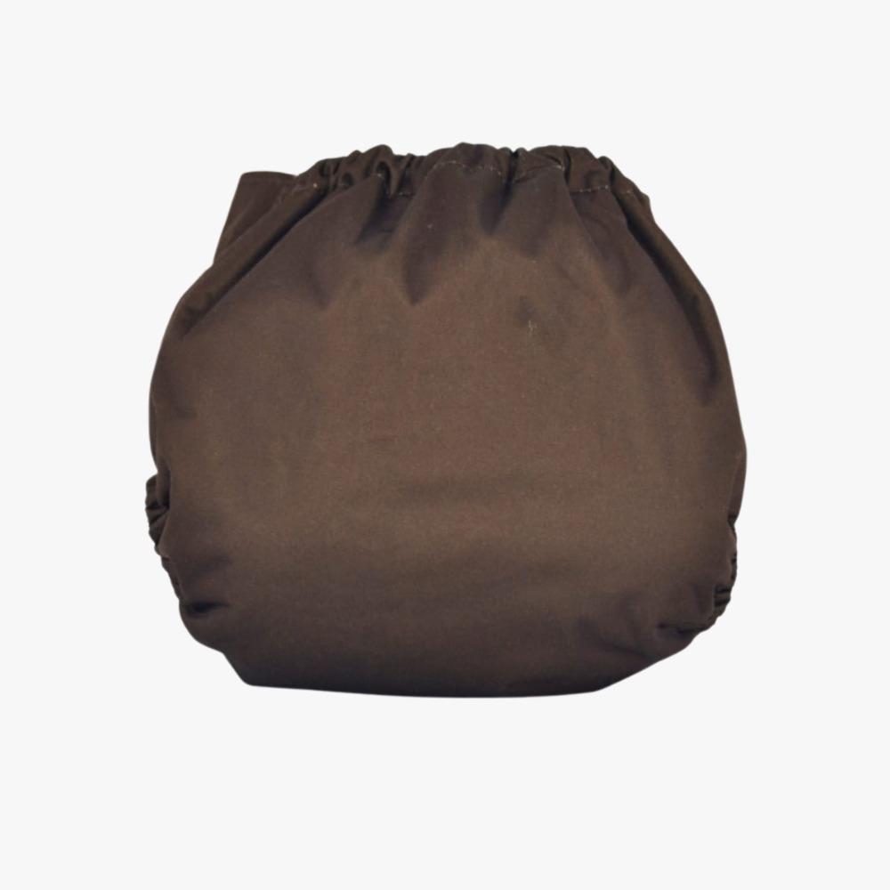 Fralda Ecológica Diurna 2 em 1 com dois absorventes - Chocolate