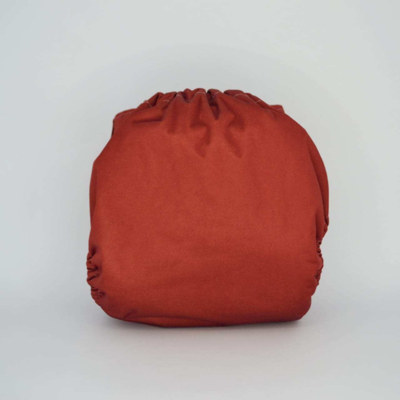 Fralda Ecológica Diurna 2 em 1 com dois absorventes  - Laranja Tijolo