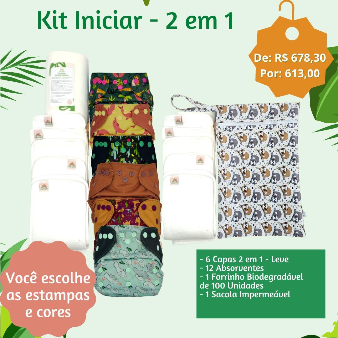 Kit Iniciar - 2 em 1