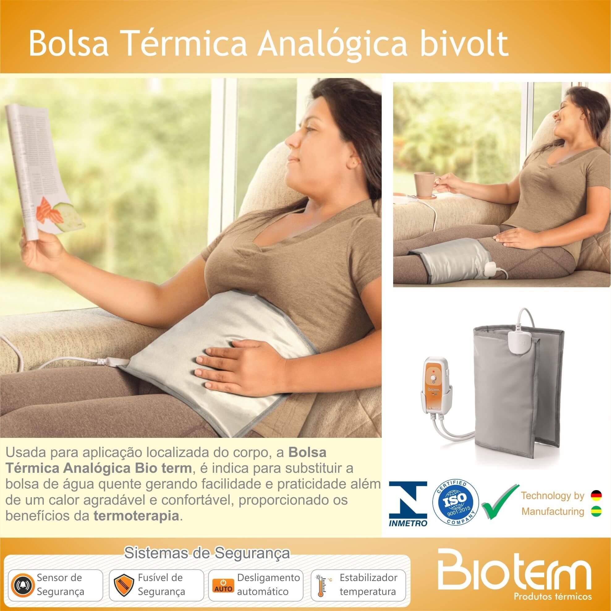 Bolsa Térmica Analógica Bivolt Automático Bio Term