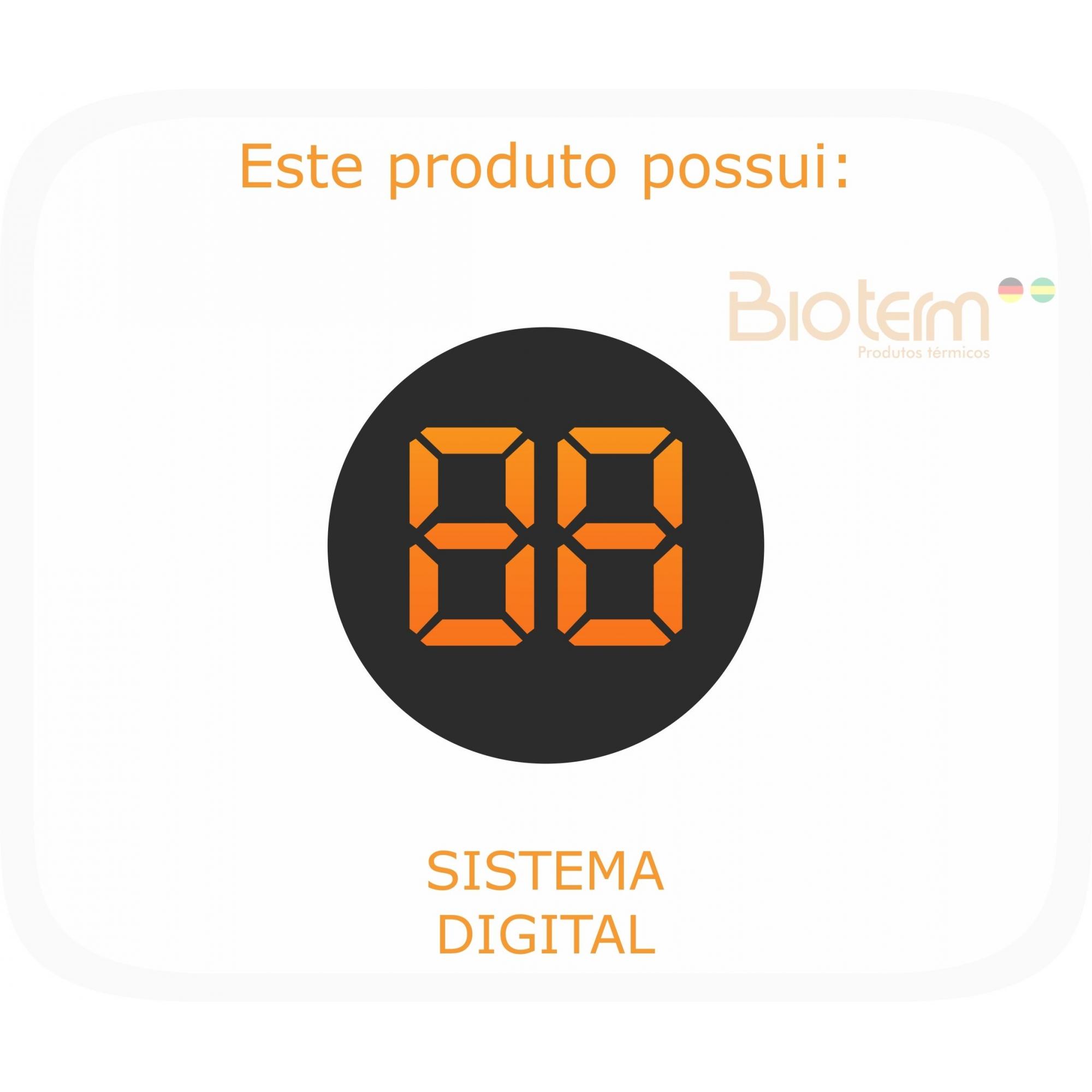 Lençol Térmico King Size Digital Bivolt Automático Bio Term