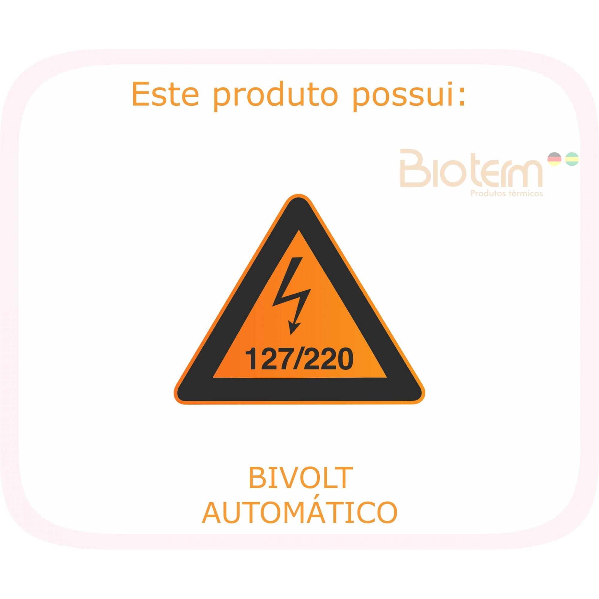 Manta Termoelétrica Meio Corpo Digital Bivolt Automático Bio Term