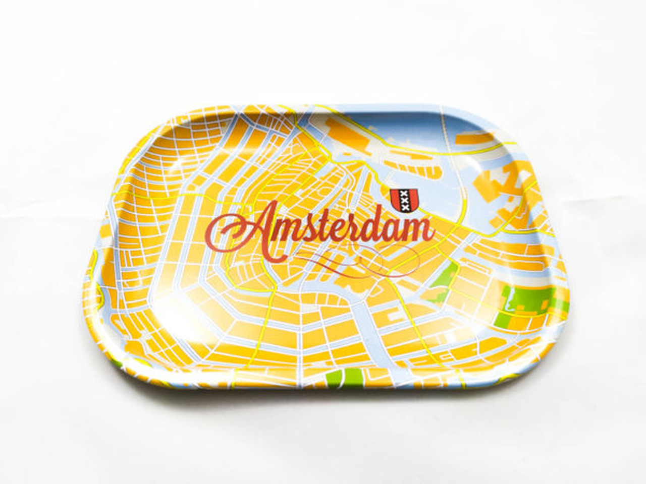 Bandeja Viagem Canábica Amsterdam Média