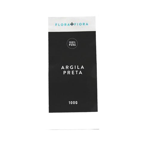 Argila Preta (Lama Vulcânica)  - Flora Fiora PRO