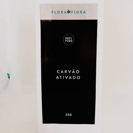 Carvão Ativado 30g  - Flora Fiora PRO