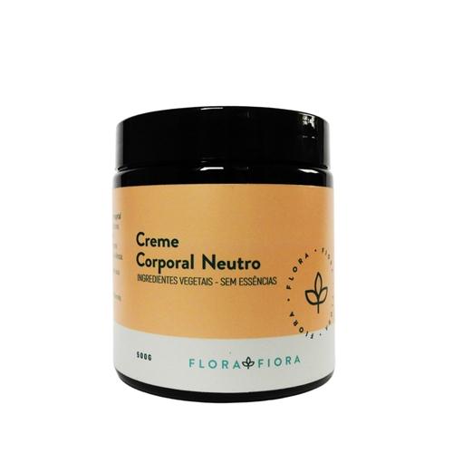 Creme Corporal Neutro  - Flora Fiora PRO