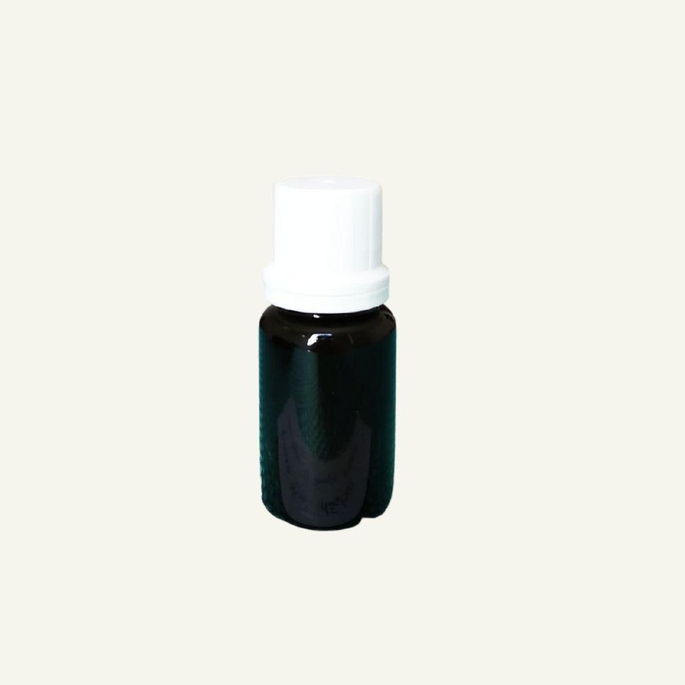 Frasco 15ml Âmbar plástico com tampa branca  - Flora Fiora PRO