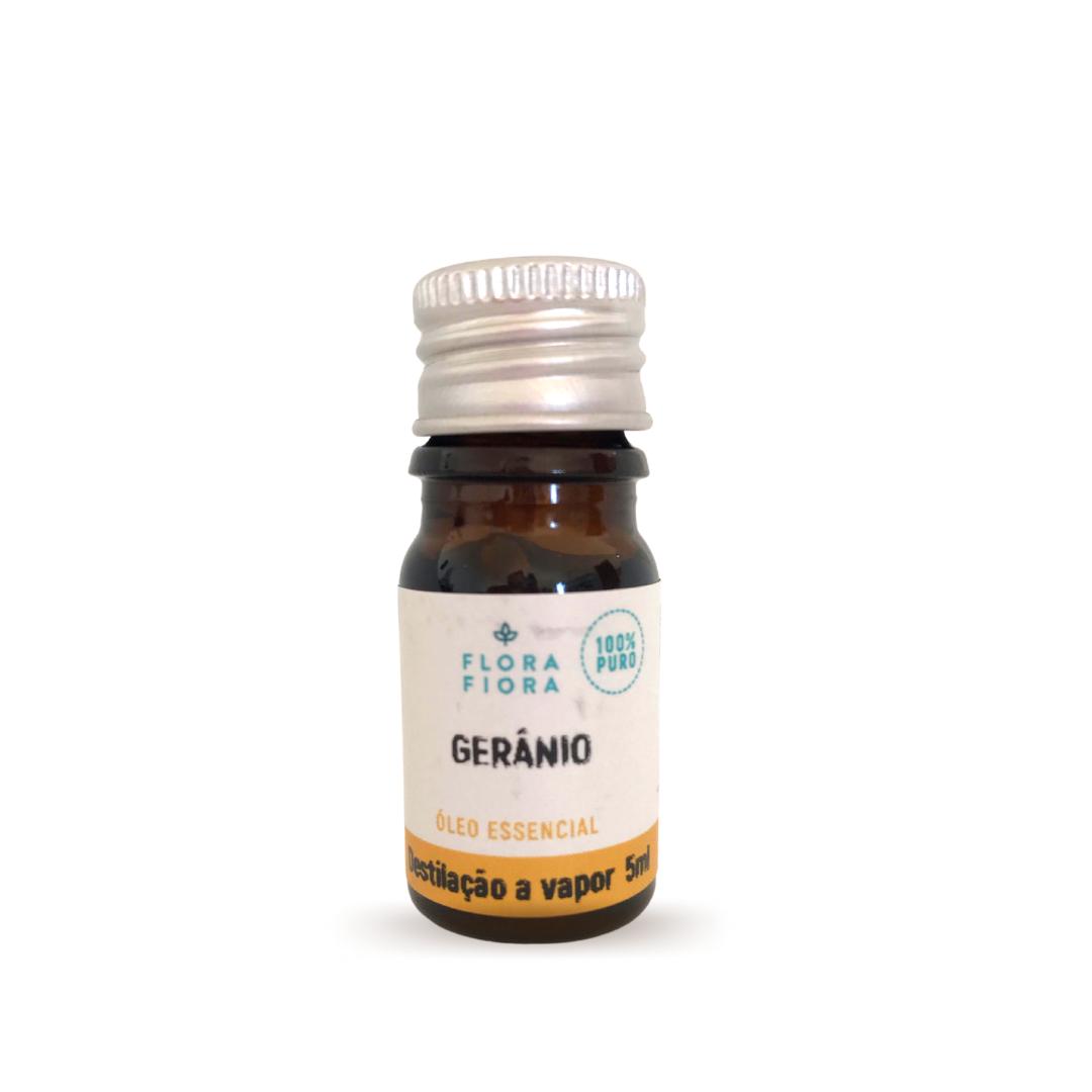 Óleo Essencial de Gerânio (Bourbon) - 5ml  - Flora Fiora PRO