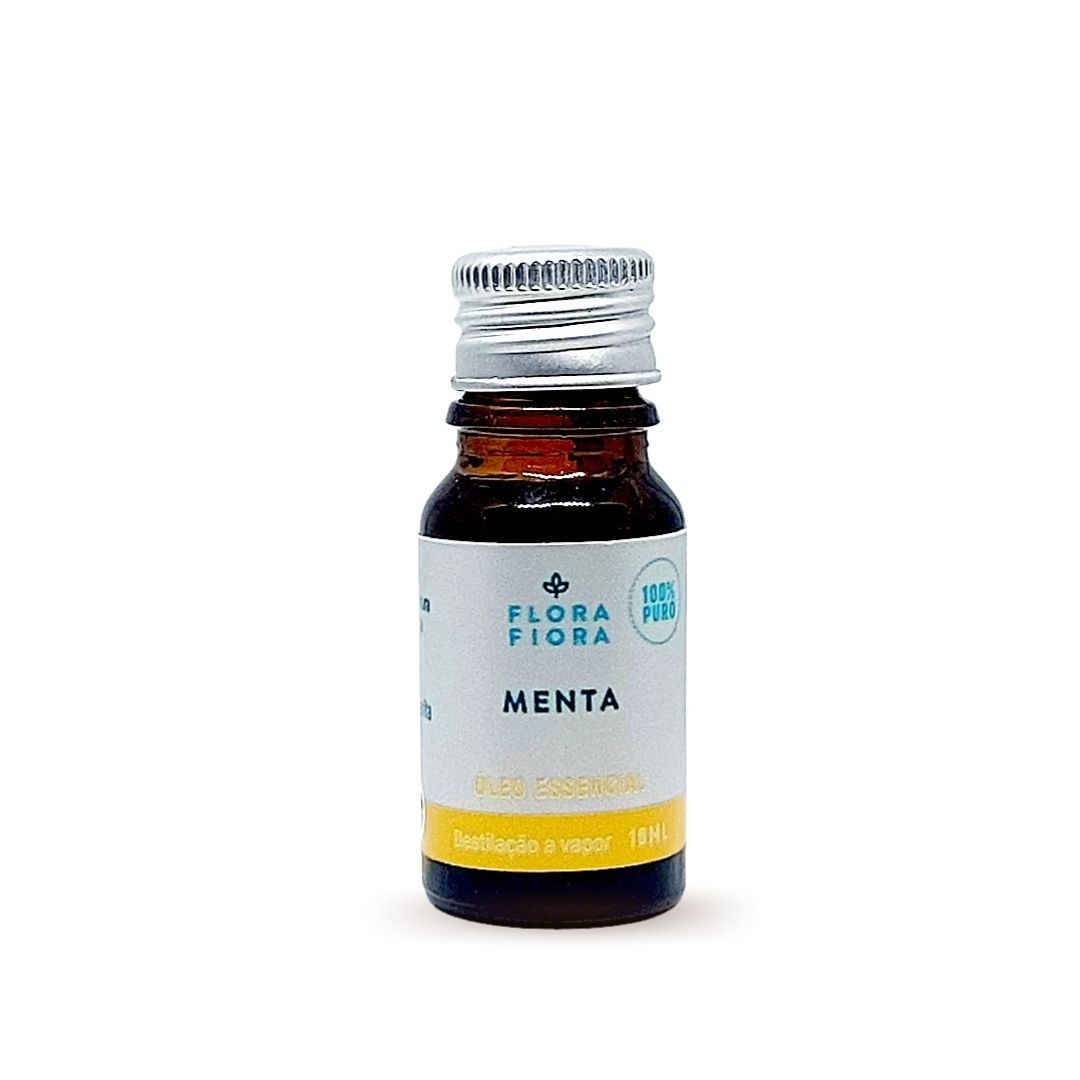 Óleo Essencial de Menta Piperita (Hortelã Pimenta) - 10ml  - Flora Fiora PRO