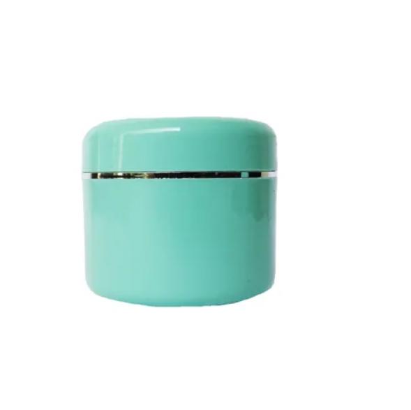 Pote Plástico Verde c/ Prata  - Flora Fiora PRO