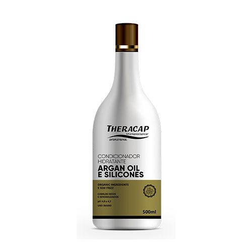 Condic. Silicone Óleo de Argan - 500 ml