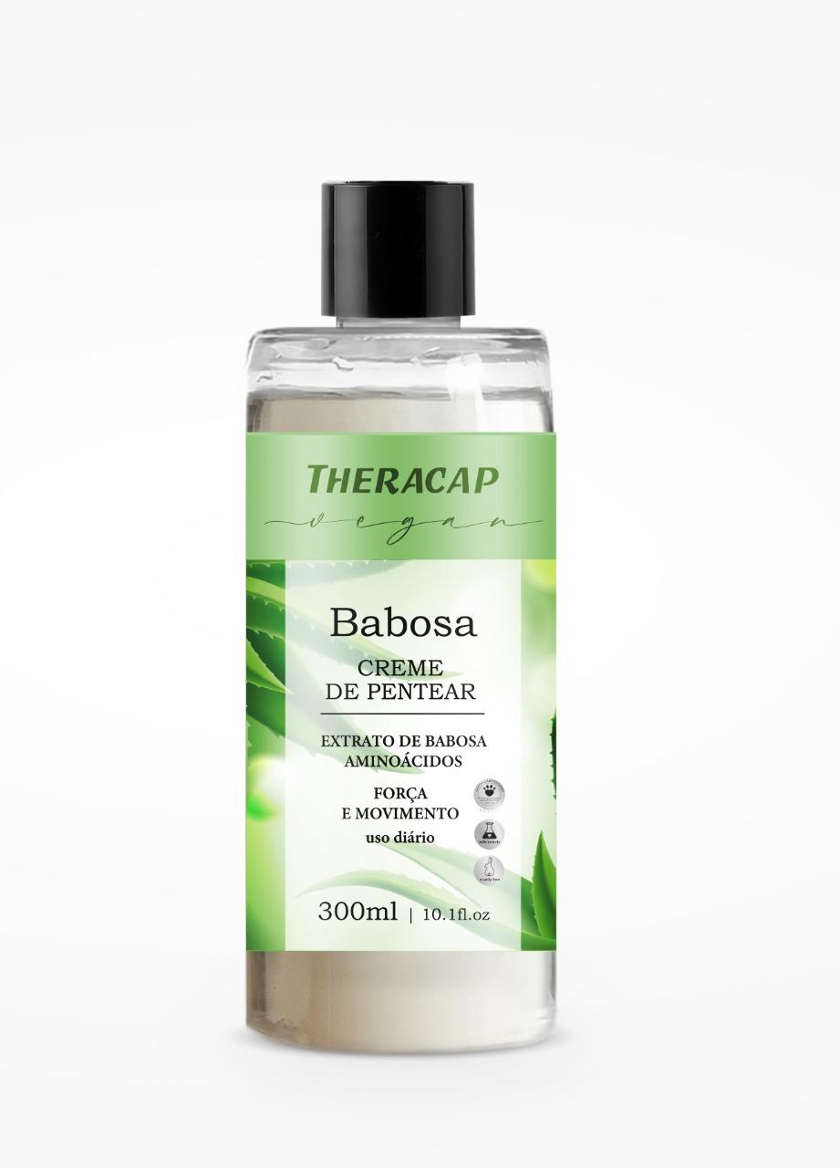 Creme de Pentear Babosa Theracap Vegan 300ml